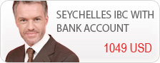 Offshore seychelles ibc with bank account